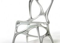 Unique and futuristic Aluminum Chair Design, Shelly by ...