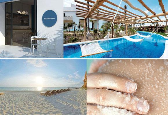 Sweet Corner, hamacas sobre la piscina, Playa Mujeres y spa, The Finest