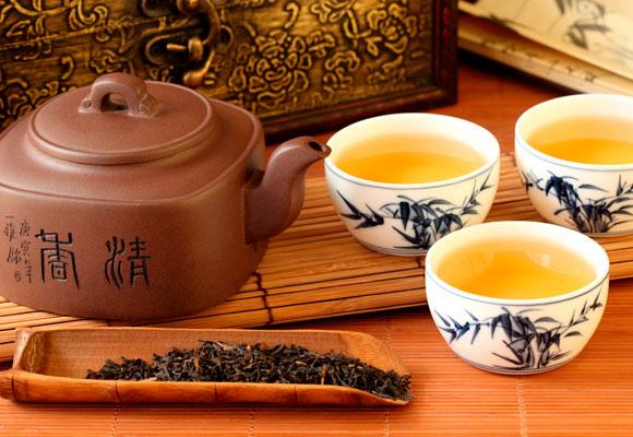 El maridaje con tés es muy común en culturas orientales