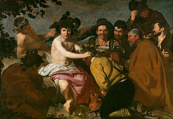 'El triunfo de Baco', Velázquez