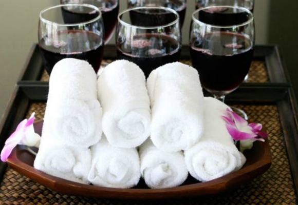 Muchos spas ofrecen vinoterapia