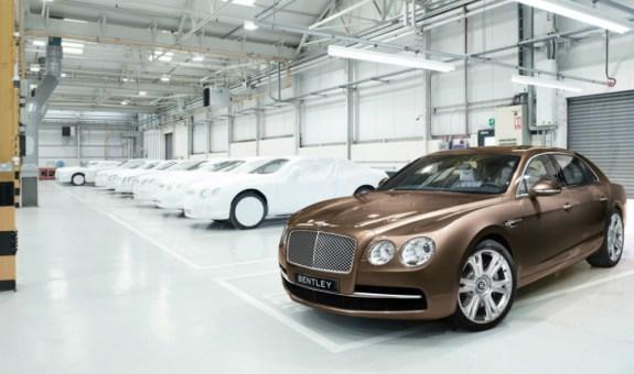 Bentley, récord de ventas en 2016