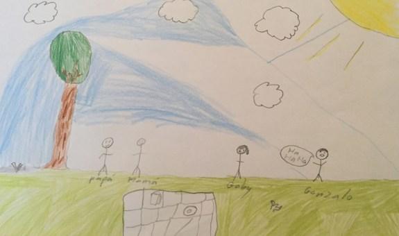¿Sabes lo que dicen los dibujos de tus hijos?