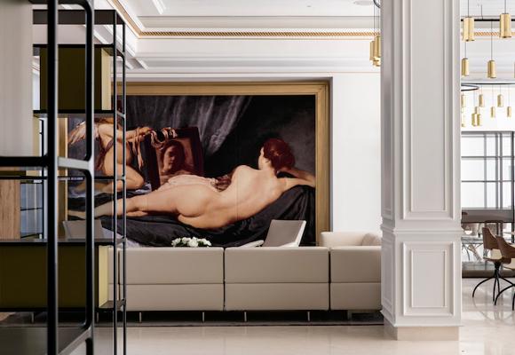 Las obras de Diego Velázquez inspiran cada estancia