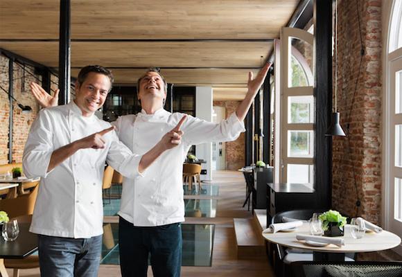 Los hermanos Torres están al mando del restaurante 'Dos Cielos'
