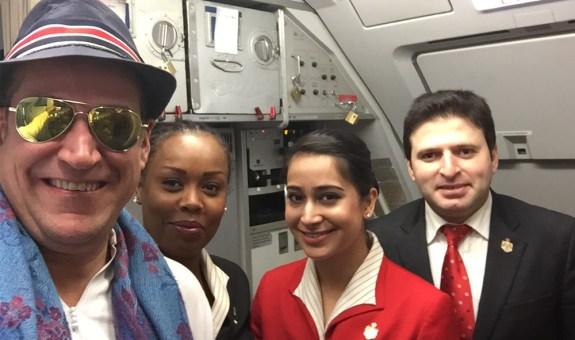 Así se viaja en el avión de los reyes