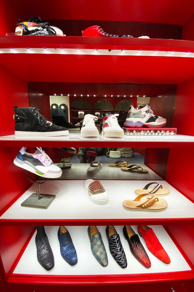 Men's Shoes at the Christian Louboutin Outlet (The Luxury Lowdown Blog)