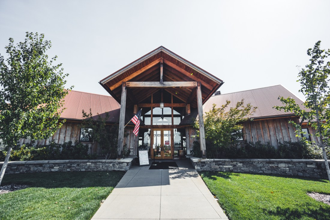 Kriselle Cellars' Front Entrance