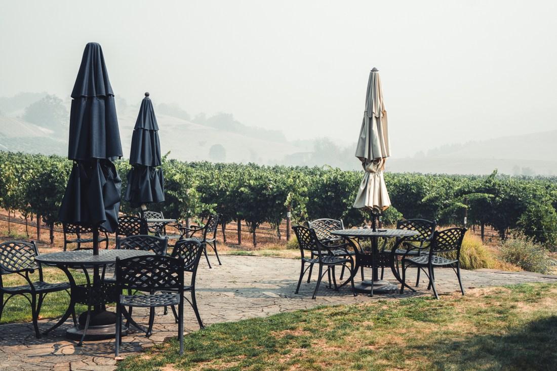 Abacela Vineyards Outdoor Seating