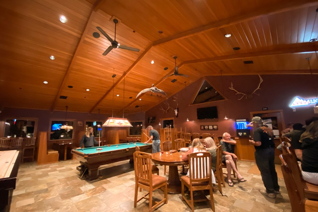 Harriman Springs Resort Bar Area