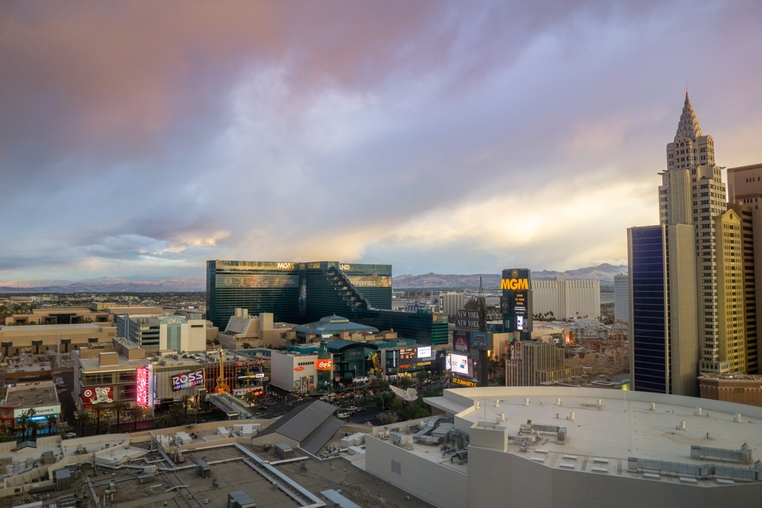 Park MGM Two Queen Strip View