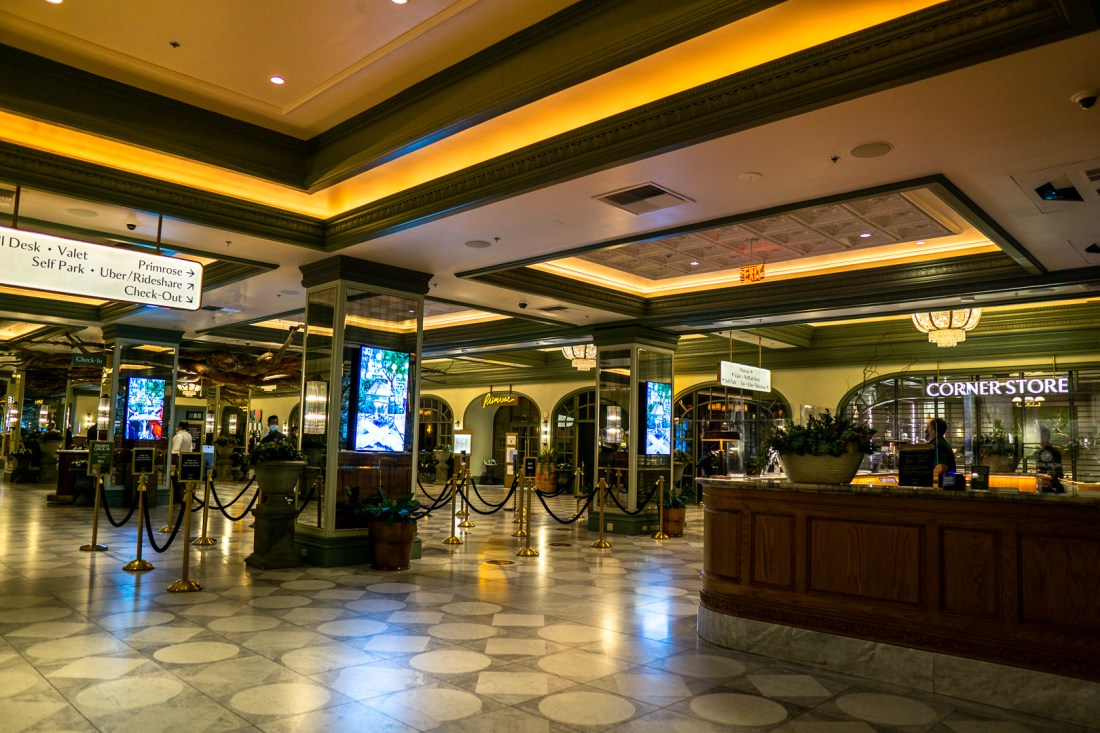 Park MGM Check In Lobby