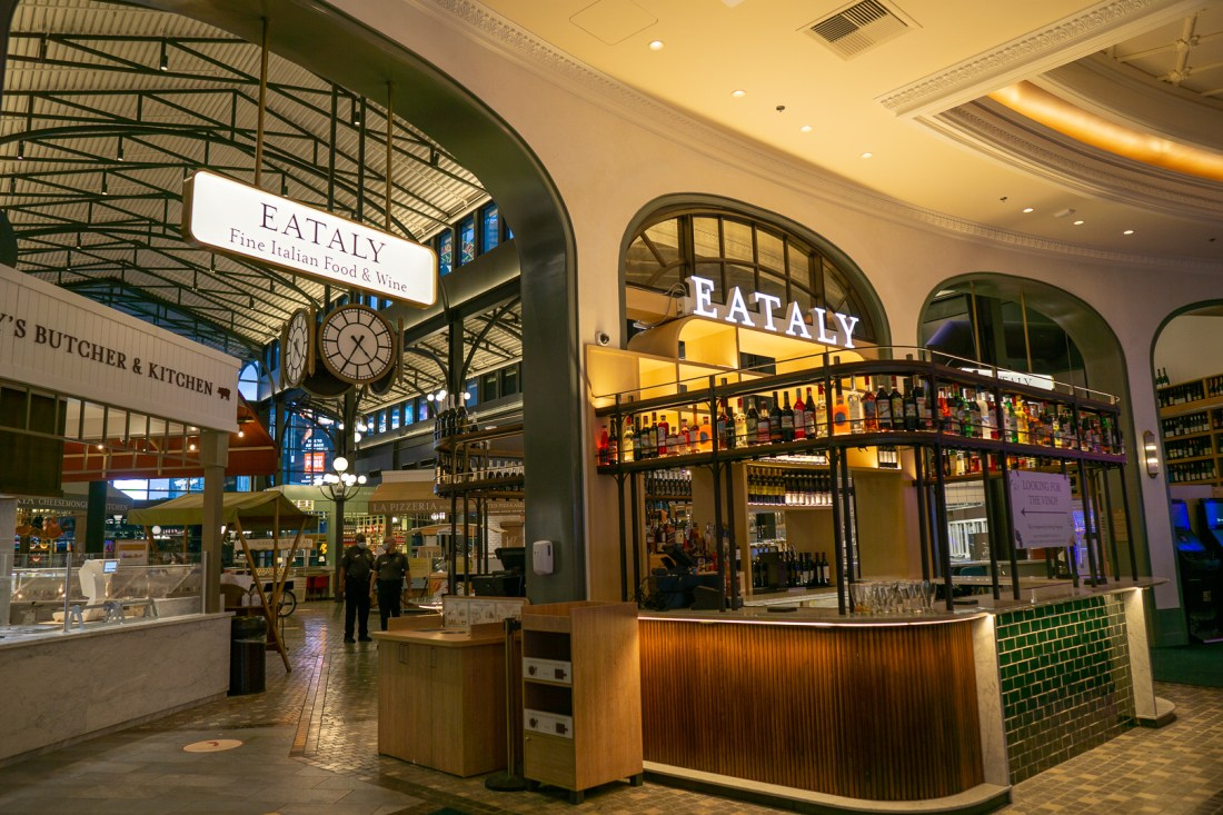 Eataly inside of the Park MGM