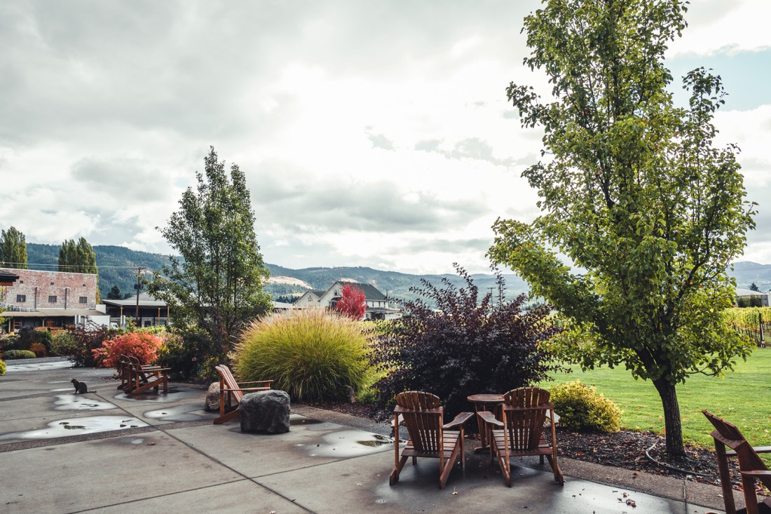 Mt. Hood Winery Outdoor Seating