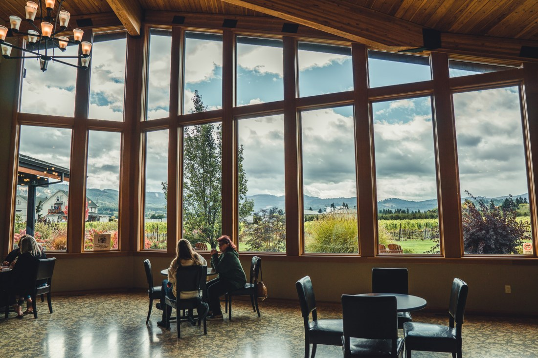 Mt. Hood Winery Tasting Room
