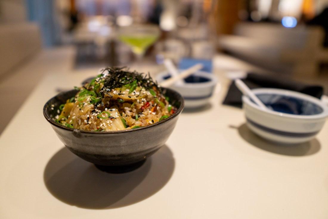 Departure Restaurant Kimchi Fried Rice