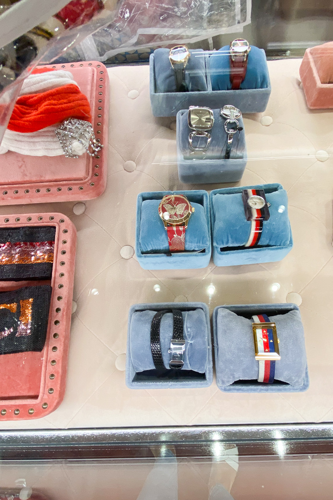 Watches at the Gucci Outlet