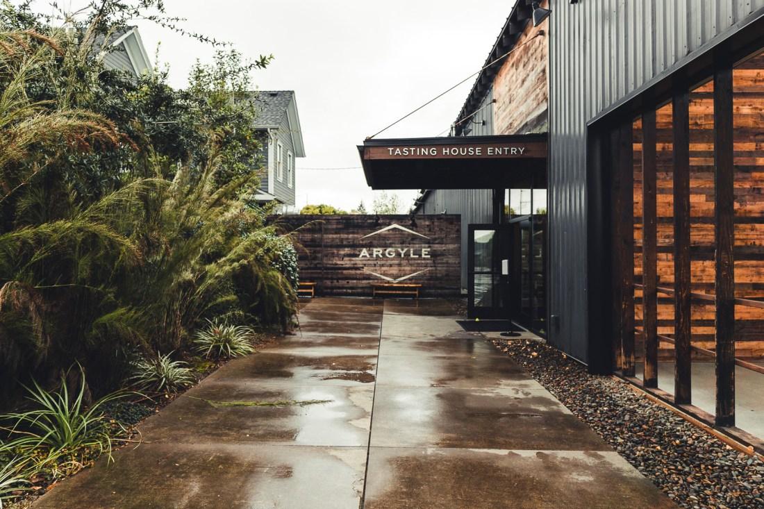 Entrance to Argyle Winery