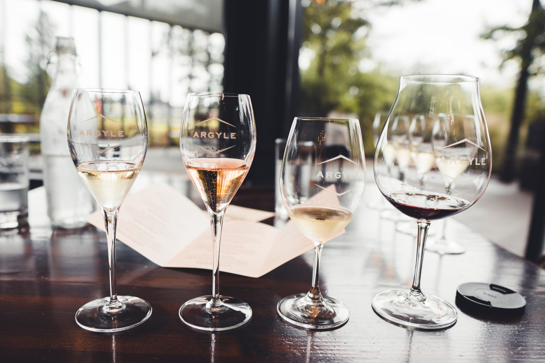 Tasting House Flight Free Wine Tasting at Argyle Winery