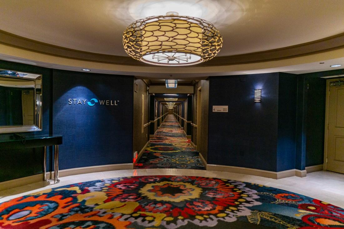 Stay Well Floor at the Mandalay Bay Las Vegas