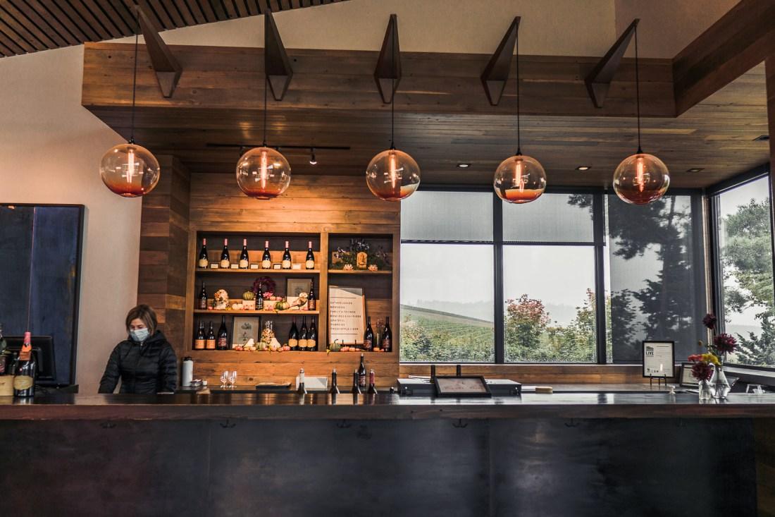 Wine Tasting Bar at Saffron Fields