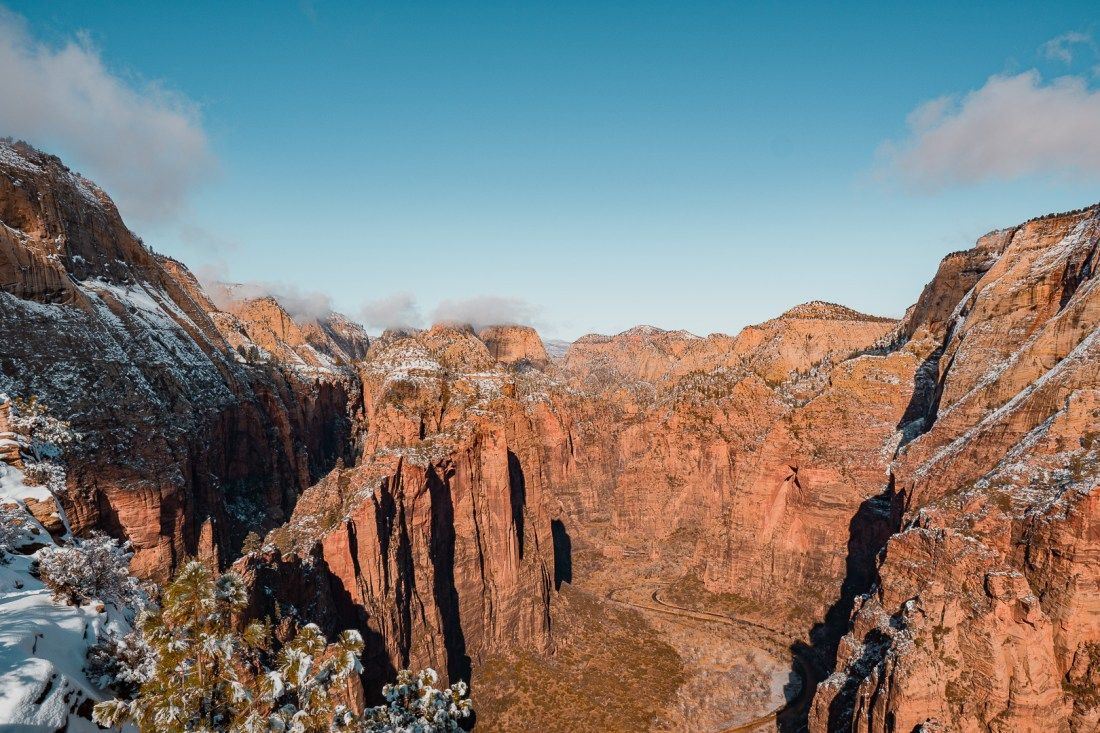 View from Angels Landing Looking Northeast