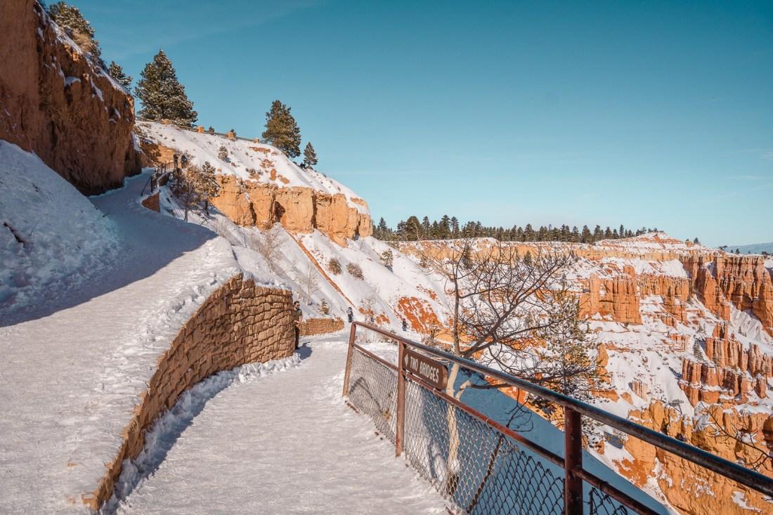 Trail Conditions at Navajo Loop