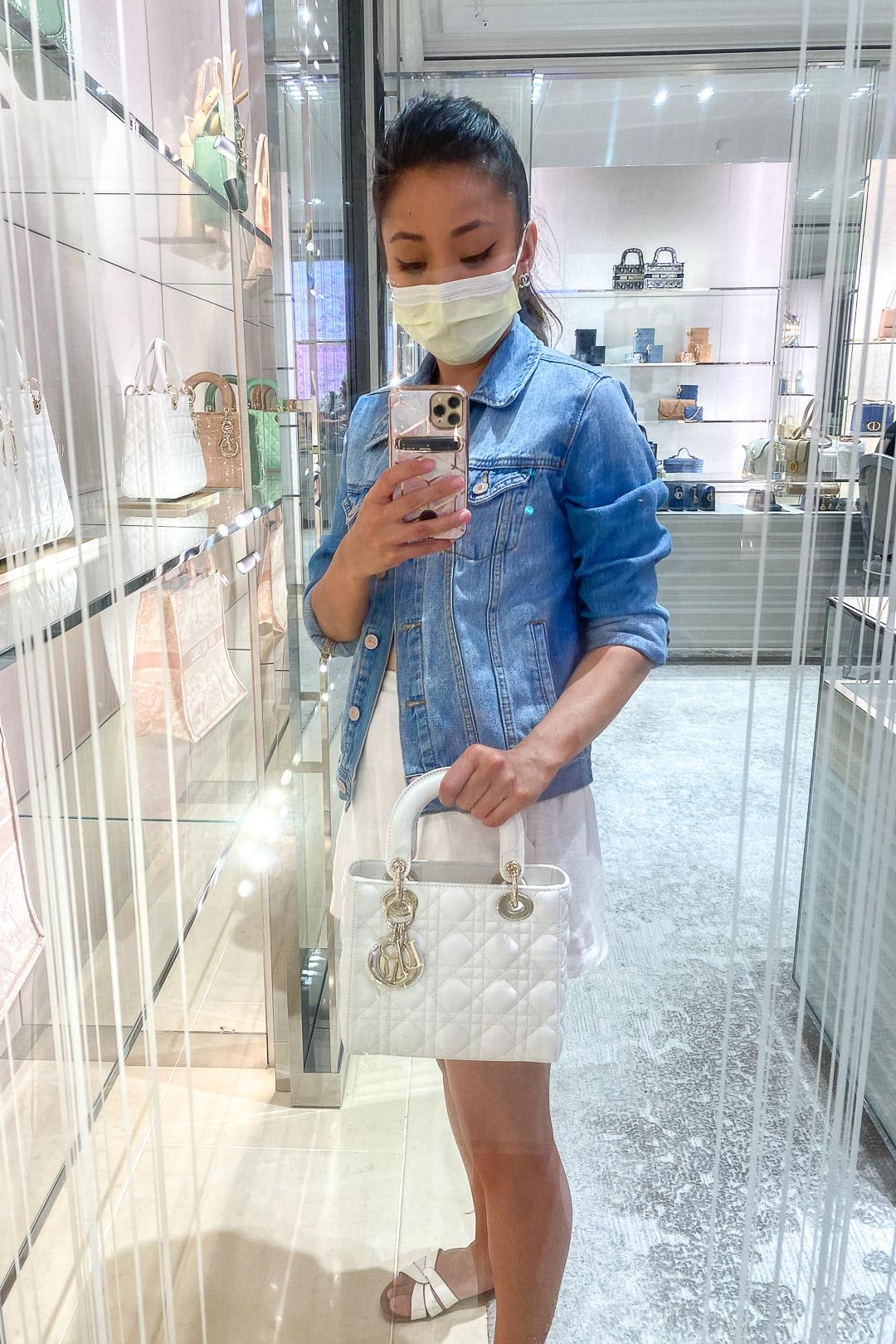 Christian Dior Small Lady Dior Bag