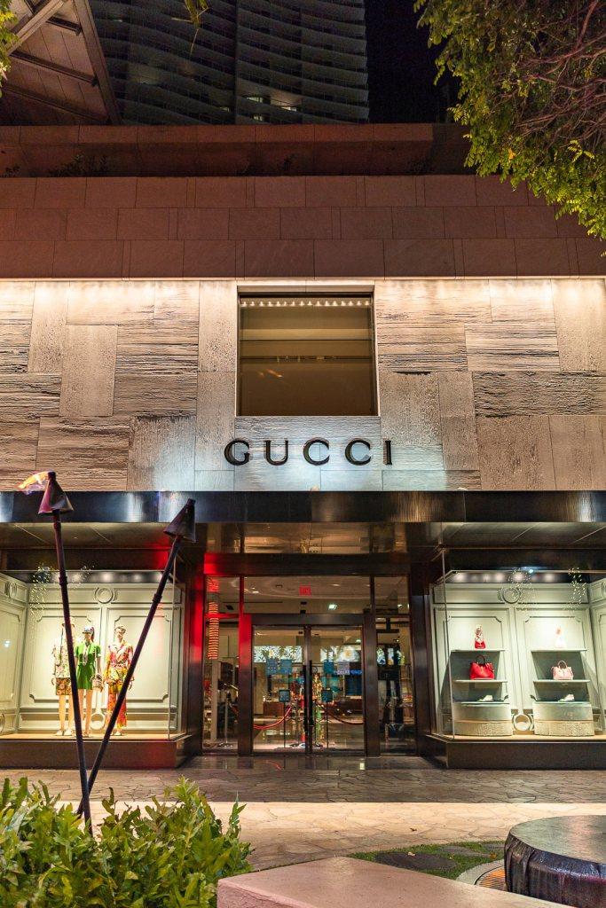 Gucci Hawaii Waikiki Store