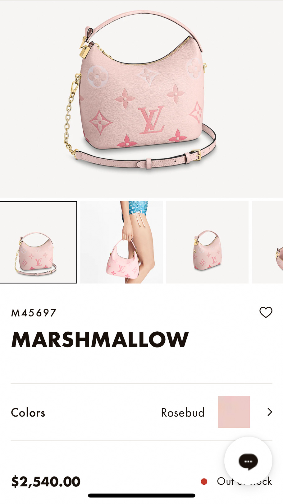 Louis Vuitton By The Pool Marshmallow Online Price