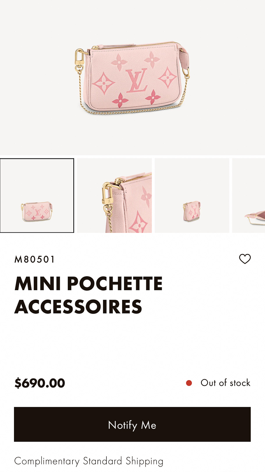 Louis Vuitton By The Pool Mini Pochette Online Price