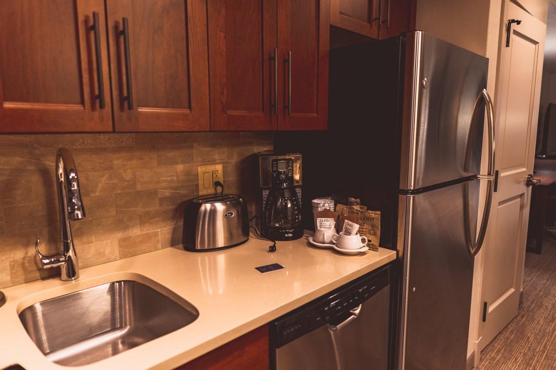 Sheraton Steamboat Resort Villas' Studio Kitchen