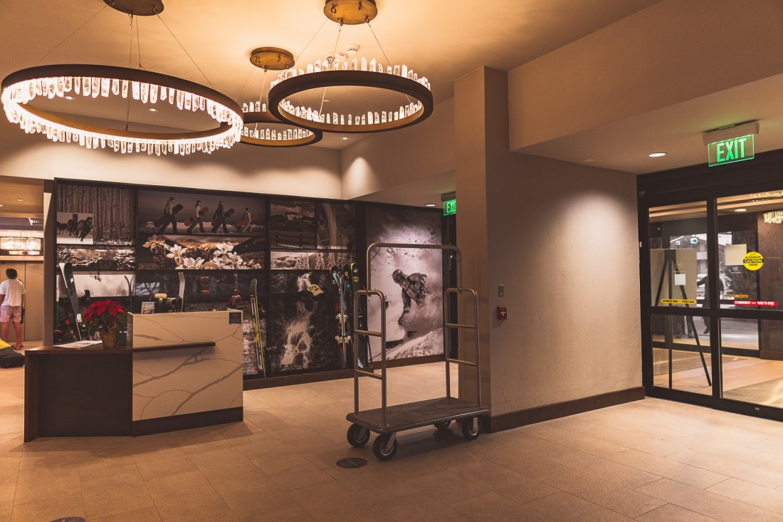 Sheraton Steamboat Resort Villas' Lobby Entrance