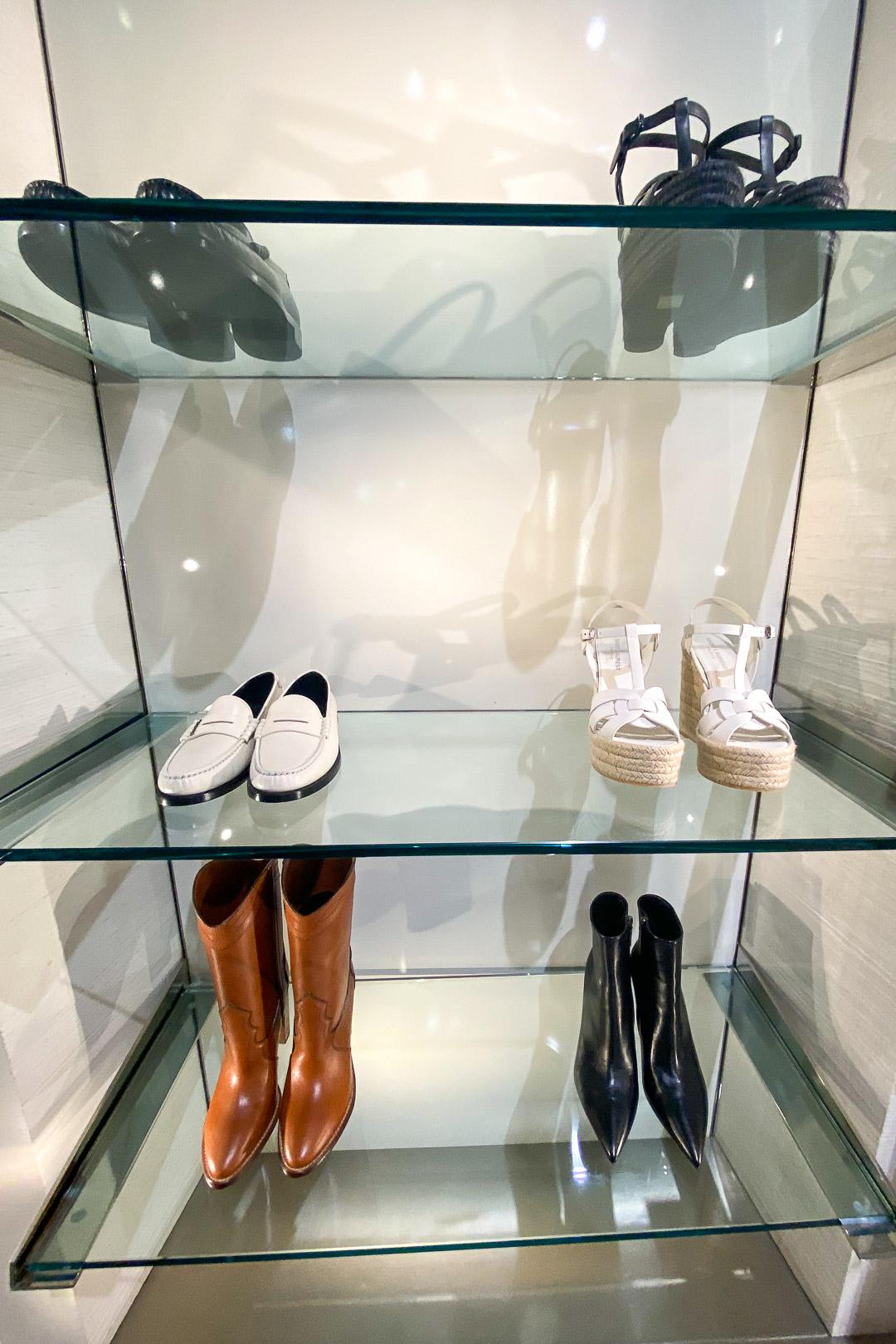 Saint Laurent Hawaii Waikiki Store Shoe Selection