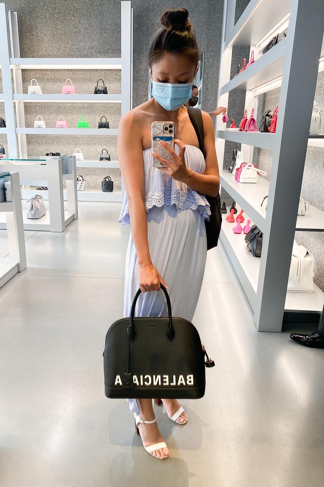 Balenciaga Women's Ville Top Handle Medium Bag