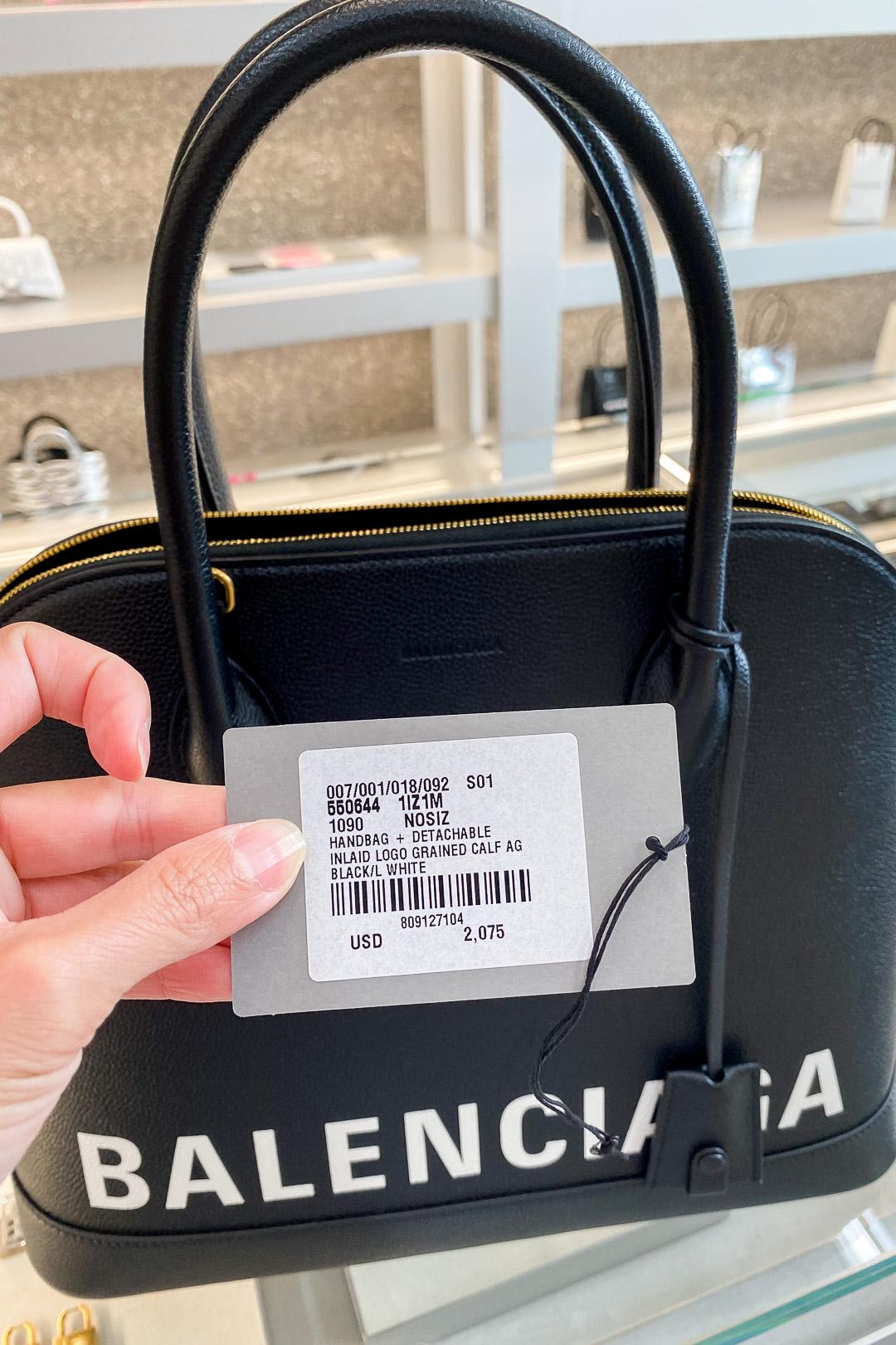 Balenciaga Hawaii Waikiki Women's Ville Top Handle Medium Bag Price