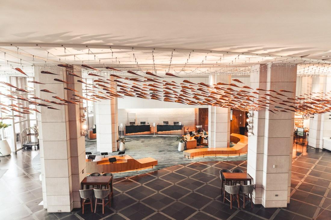 Prince Waikiki Hotel Lobby