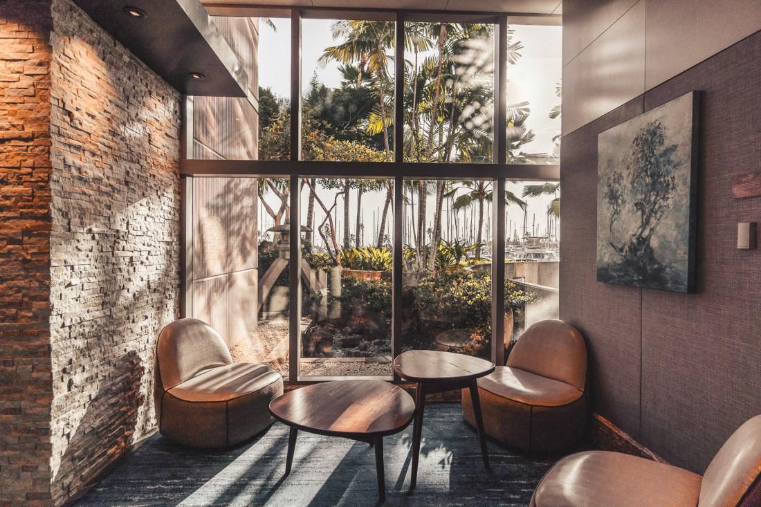 Prince Waikiki Hotel Sitting Area