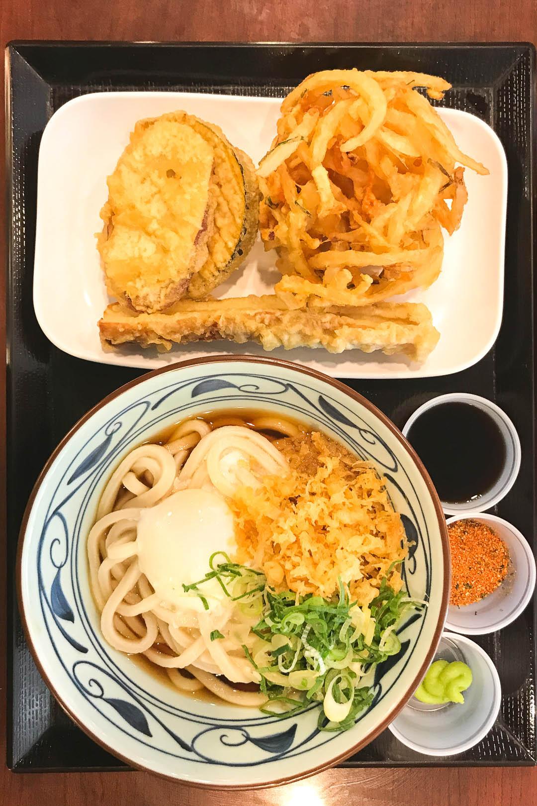 Marukame Udon and Tempura