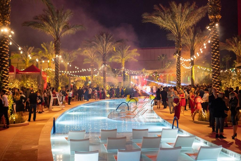 Resorts World Las Vegas Grand Opening Evening Pool Party