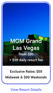 MGM Grand Exclusive Rates