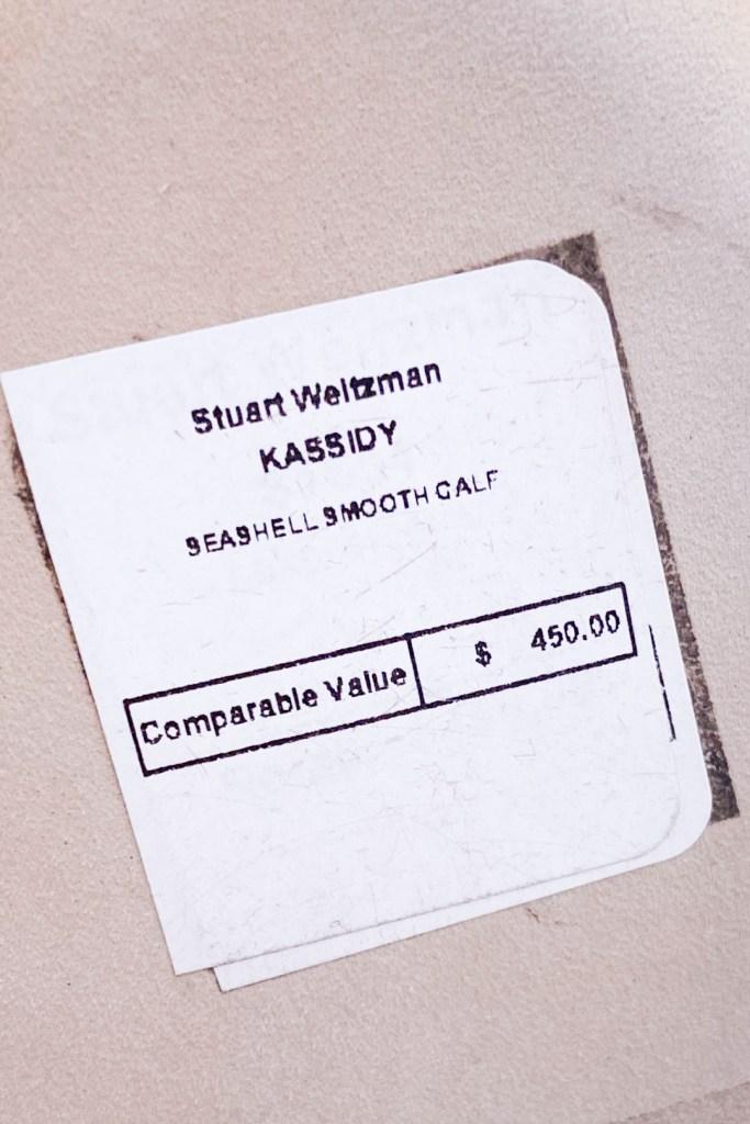 Stuart Weitzman Kassidy Heels Price