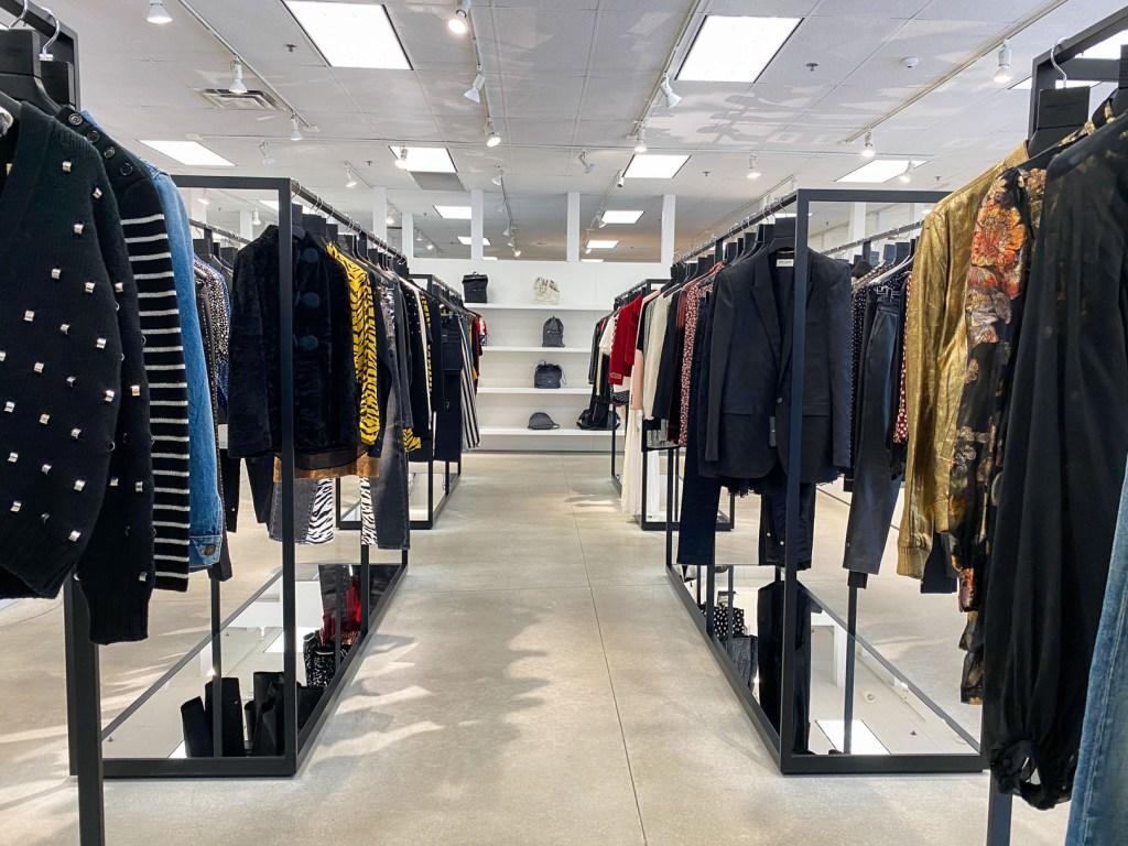 Saint Laurent Outlet Clothes Section