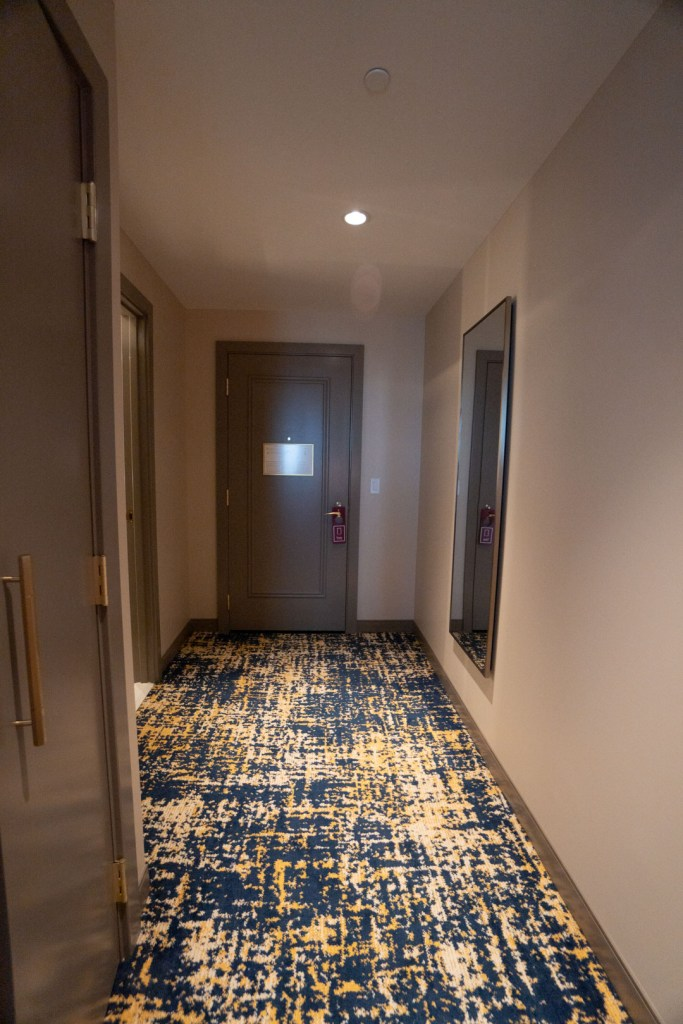 Entrance to the room