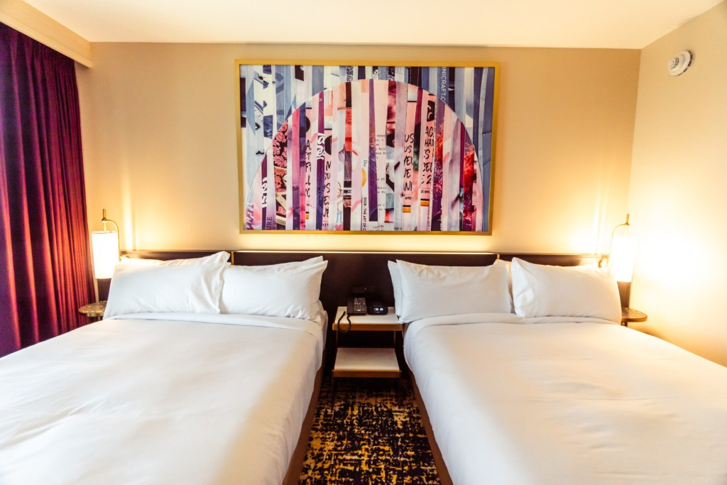 Las Vegas Hilton at Resorts World Two Queen Beds Room