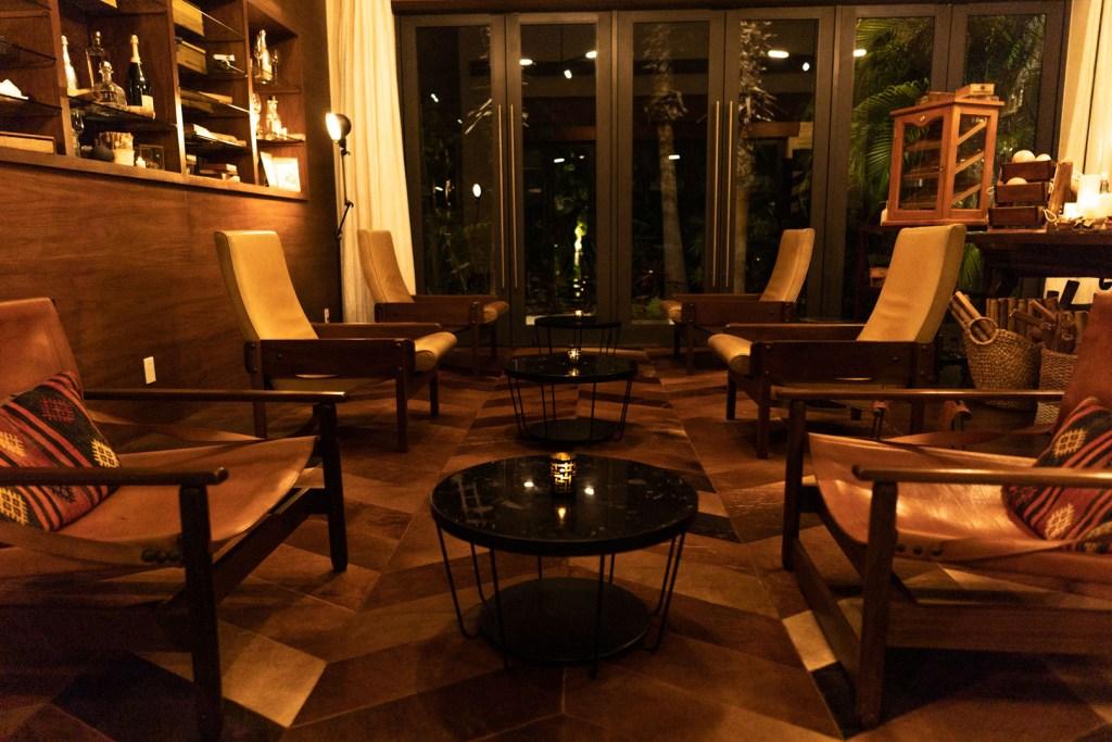 Casa Amate Lounge Area