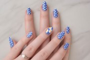 diy easy spring nail art