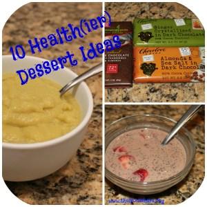 10 Healthier dessert ideas