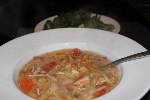 """chicken """"noodle"""" soup 2"""