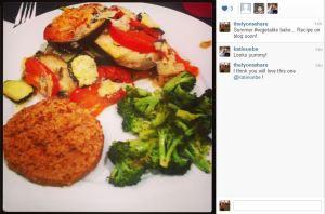 instagram vegetable bake